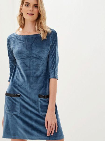 Платье - голубое Lelio
