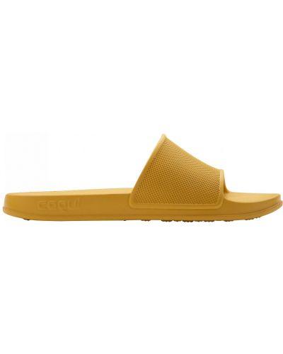 Спортивные шлепанцы - желтые Coqui