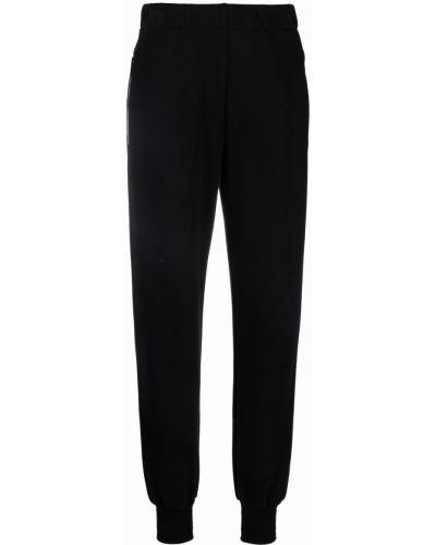Spodnie bawełniane - czarne Givenchy