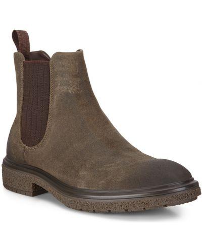 Кожаные ботинки челси с подкладкой Ecco