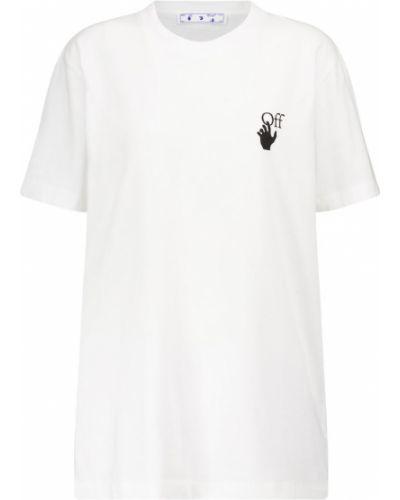 Biały bawełna bawełna koszula Off-white