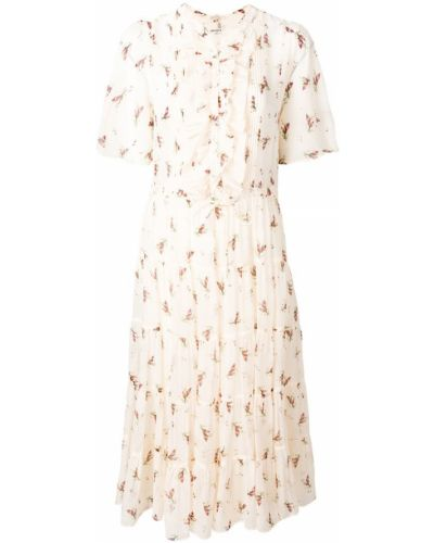 Платье с цветочным принтом солнце Masscob