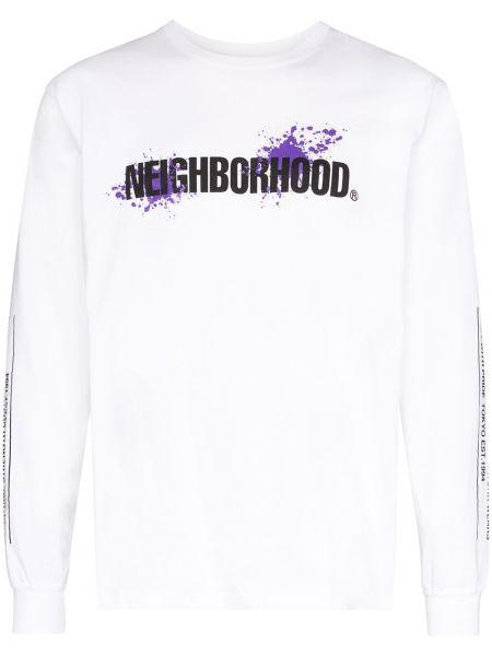 Koszula z długim rękawem z logo długa Neighborhood