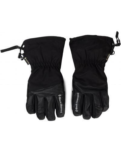 Skórzany rękawiczki czarny Black Diamond