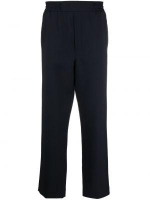 Niebieskie spodnie bawełniane Acne Studios