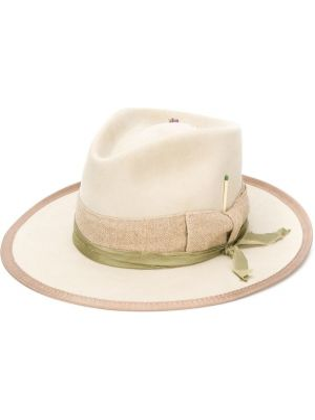 Шляпа с широкими полями свободного кроя Nick Fouquet