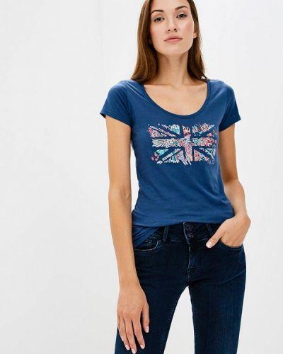 Синяя футболка Pepe Jeans