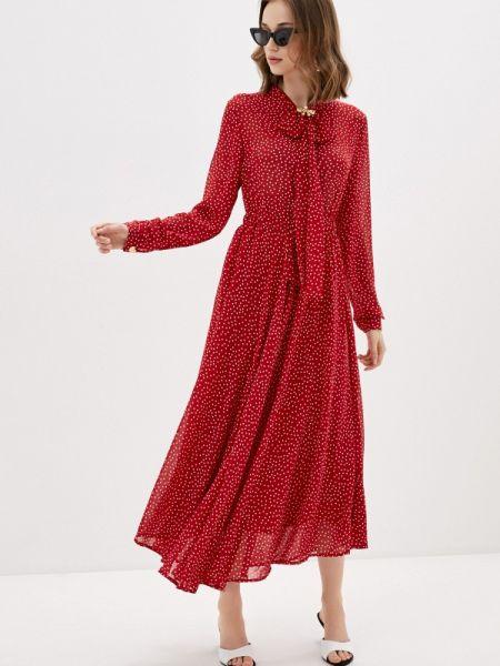 Платье прямое красный Sister Jane