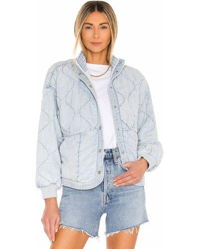 Городская стеганая синяя куртка [blanknyc]
