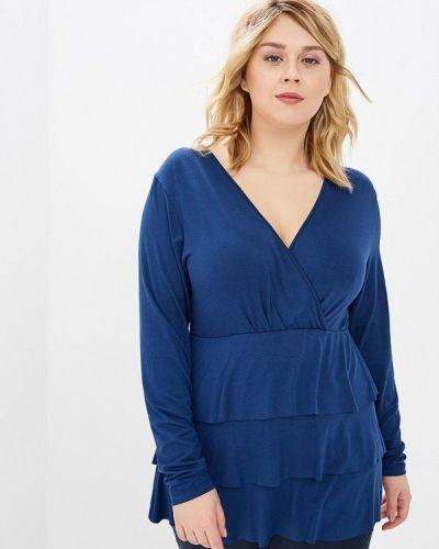 Блузка синяя весенний Keyra