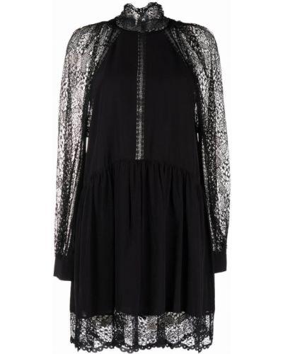 Платье макси с длинными рукавами - черное Iro