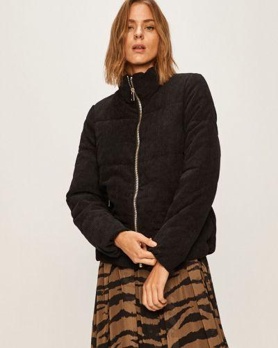 Прямая черная куртка с капюшоном Jacqueline De Yong