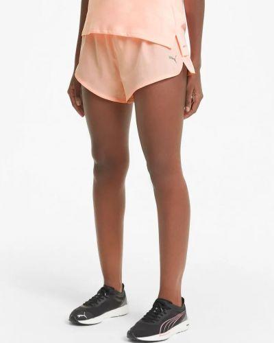 Спортивные шорты для тренировок - оранжевые Puma