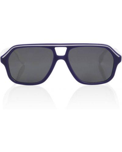 Niebieskie okulary Burberry Kids