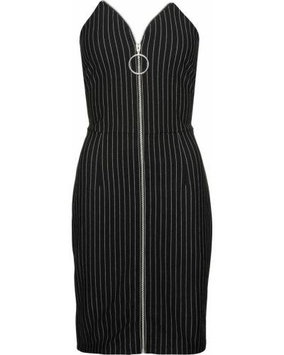 Платье макси жаккардовое платье-поло Bonprix