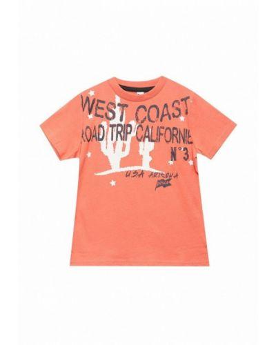 Оранжевая футболка 3 Pommes