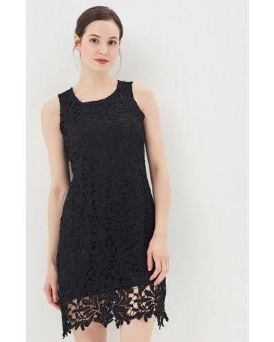 Платье осеннее черное By Swan