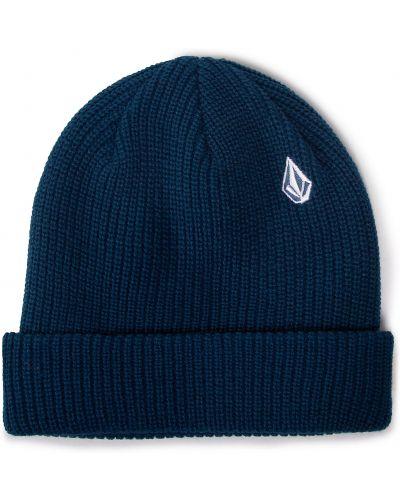Niebieska czapka z akrylu Volcom