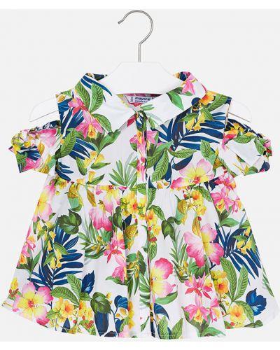 Блуза на пуговицах Mayoral