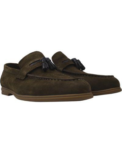 Туфли - зеленые Lido Marinozzi