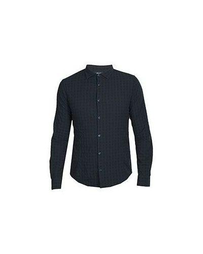 Рубашка в клетку хлопковая Armani Jeans