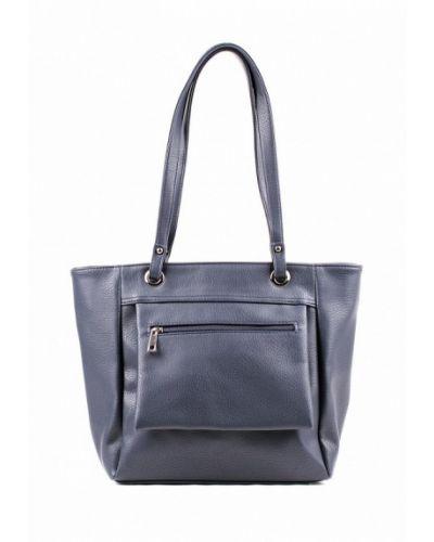 Синяя сумка шоппер медведково