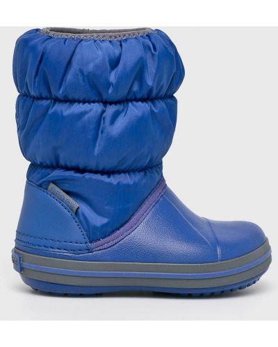 Сапоги зимние текстильные Crocs