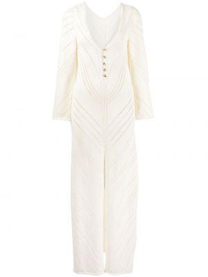 Biała sukienka bawełniana Cult Gaia