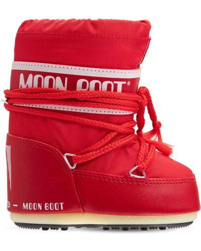 Ботильоны на шнуровке Moon Boot