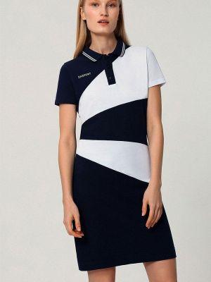 Синее платье Zasport