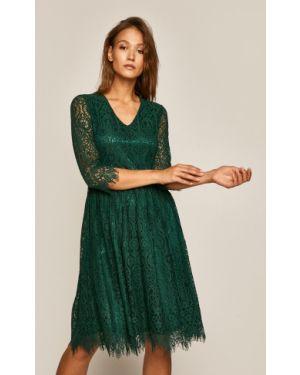 Платье мини ажурное однотонное Medicine
