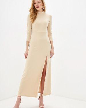 Вечернее платье осеннее золотой Befree