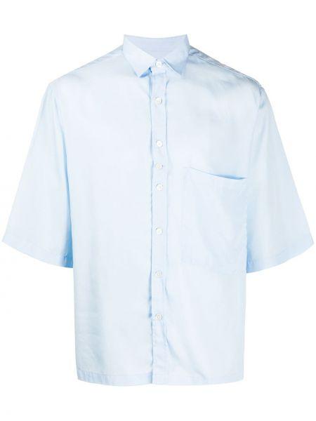 Koszula krótkie z krótkim rękawem klasyczna z kieszeniami Costumein