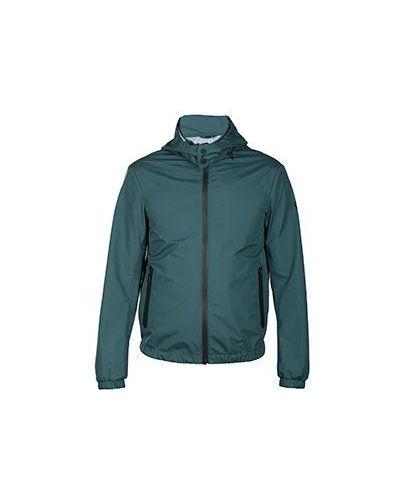 Зеленая ветровка Armani Jeans