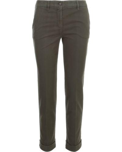 Zielone spodnie Aspesi