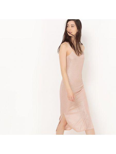 Платье миди мини с V-образным вырезом La Redoute Collections