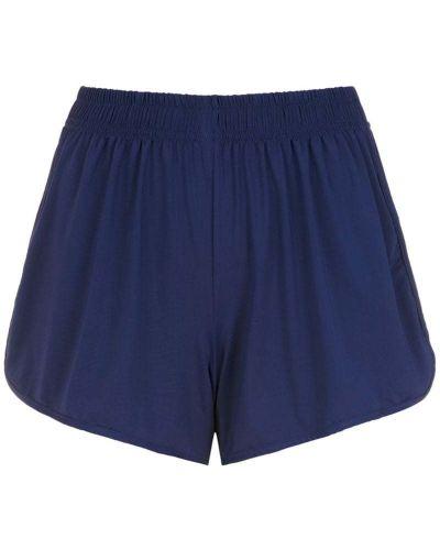 Синие короткие шорты эластичные Lygia & Nanny