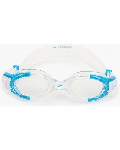 Белые очки Speedo