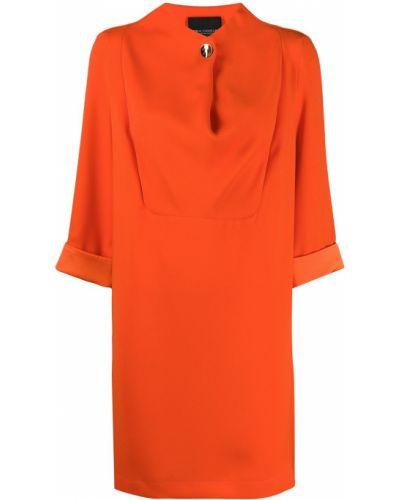 Платье на пуговицах с отложным воротником Erika Cavallini