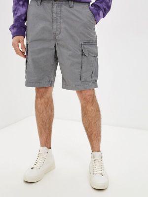 Серые повседневные шорты Marks & Spencer