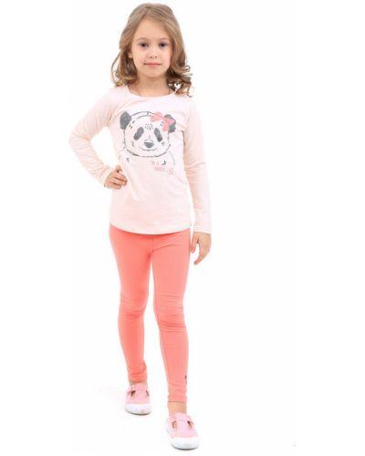 Розовая футболка хлопковая Tom Tailor