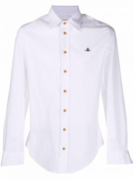 Белая рубашка с рукавом реглан Vivienne Westwood