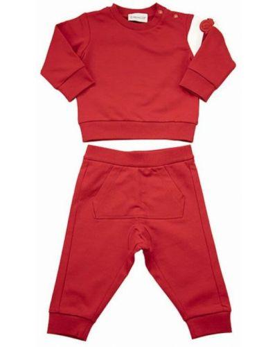 Garnitur - czerwony Moncler