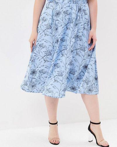 Голубая юбка весенняя Modis