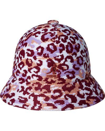 Różowy kapelusz Kangol
