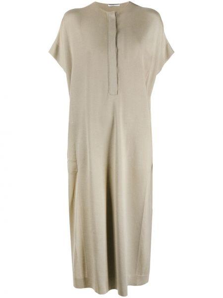 Шелковое платье мини Agnona