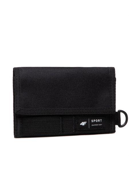 Czarny portfel 4f