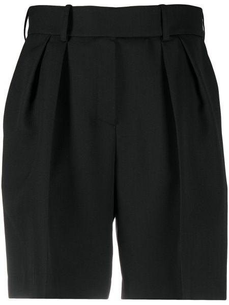 Черные с завышенной талией шорты Alexandre Vauthier