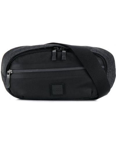 Поясная сумка с логотипом - черная Boss Hugo Boss