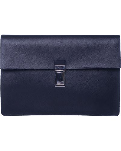 Черный портфель Prada